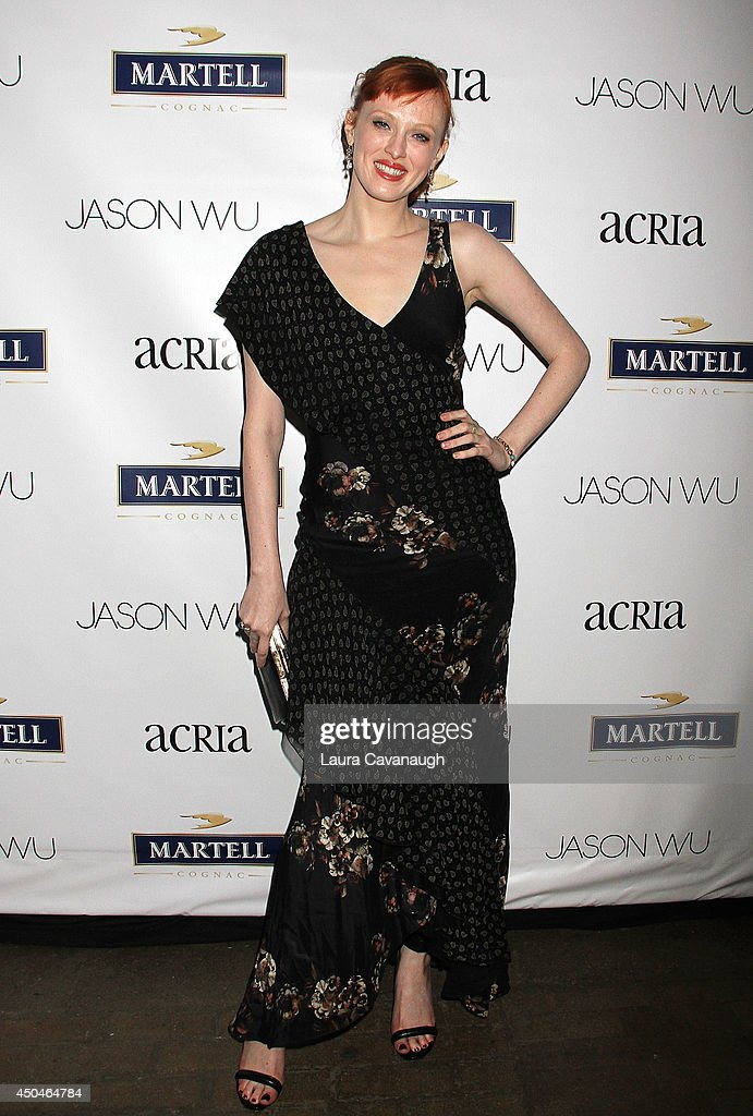 <a gi-track='captionPersonalityLinkClicked' href=/galleries/search?phrase=Karen+Elson&family=editorial&specificpeople=754972 ng-click='$event.stopPropagation()'>Karen Elson</a> attends the 2014 Young Friends Of ACRIA Summer Soiree at Highline Stages on June 11, 2014 in New York City.