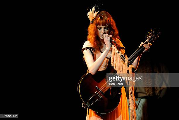 Karen Elson performs at Le Poisson Rouge on March 22 2010 in New York City