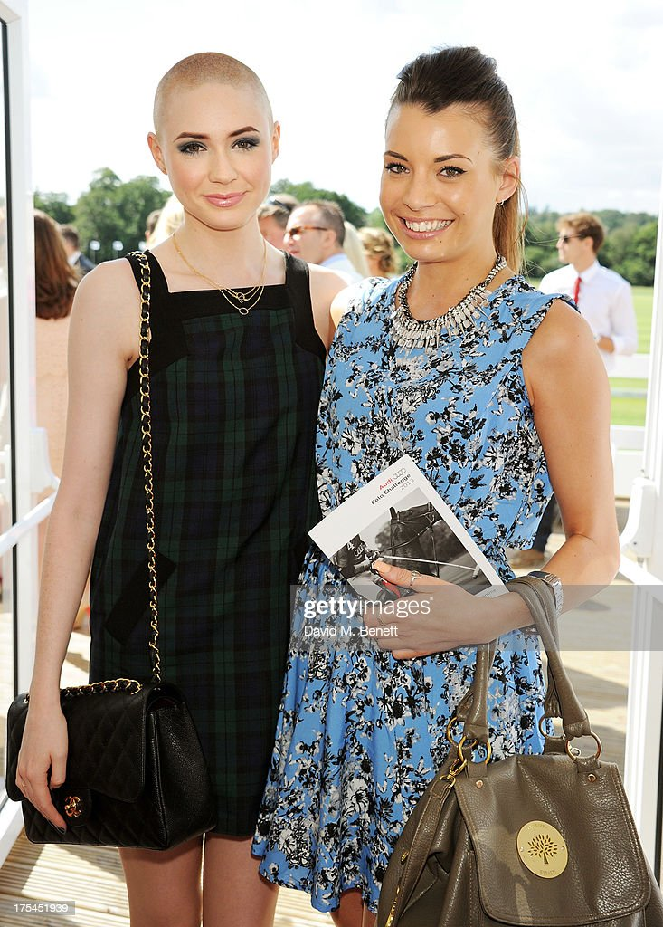 Karen Gillan (L) and Hayley Jo Needs attend day 1 of the Audi Polo Challenge at Coworth Park Polo Club on August 3, 2013 in Ascot, England.