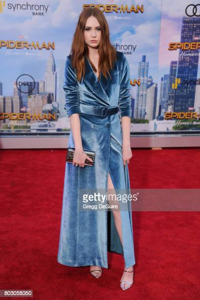 Karen Gillan arrives at the premiere of Columbia Pictures' 'SpiderMan Homecoming' at TCL Chinese Theatre on June 28 2017 in Hollywood California