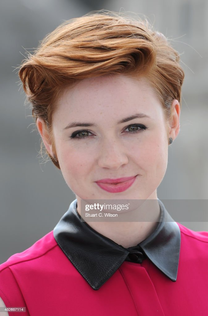 <a gi-track='captionPersonalityLinkClicked' href=/galleries/search?phrase=Karen+Gillan&family=editorial&specificpeople=6876471 ng-click='$event.stopPropagation()'>Karen Gillan</a> attends the 'Guardians of the Galacy' photocall on July 25, 2014 in London, England.