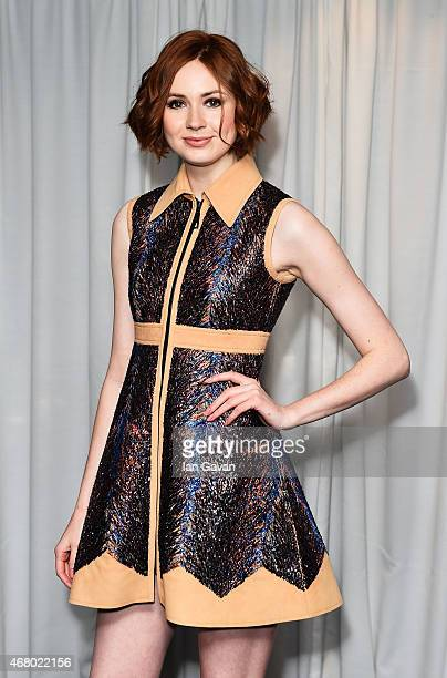 Karen Gillan attends the Jameson Empire Awards 2015 at Grosvenor House Hotel on March 29 2015 in London England