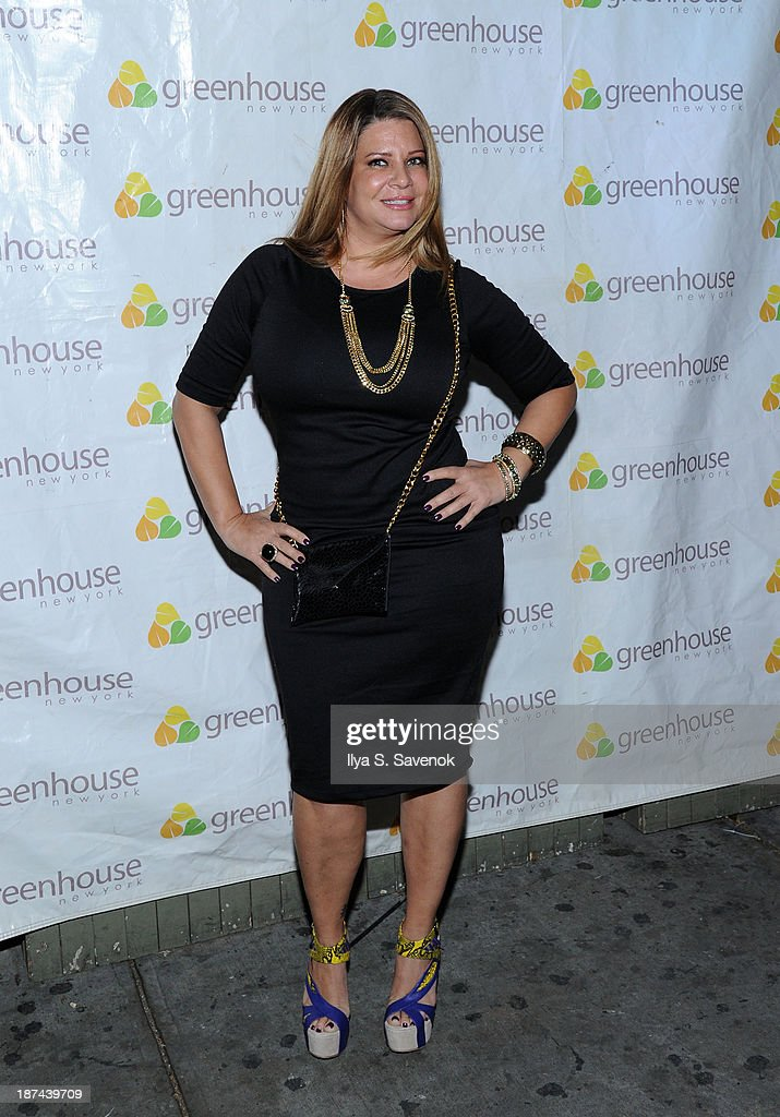 Karen Gravano attends 'Americas Next Top Model Boys vs Girls' Cycle 20 Season Finale Party at Greenhouse on November 8 2013 in New York City