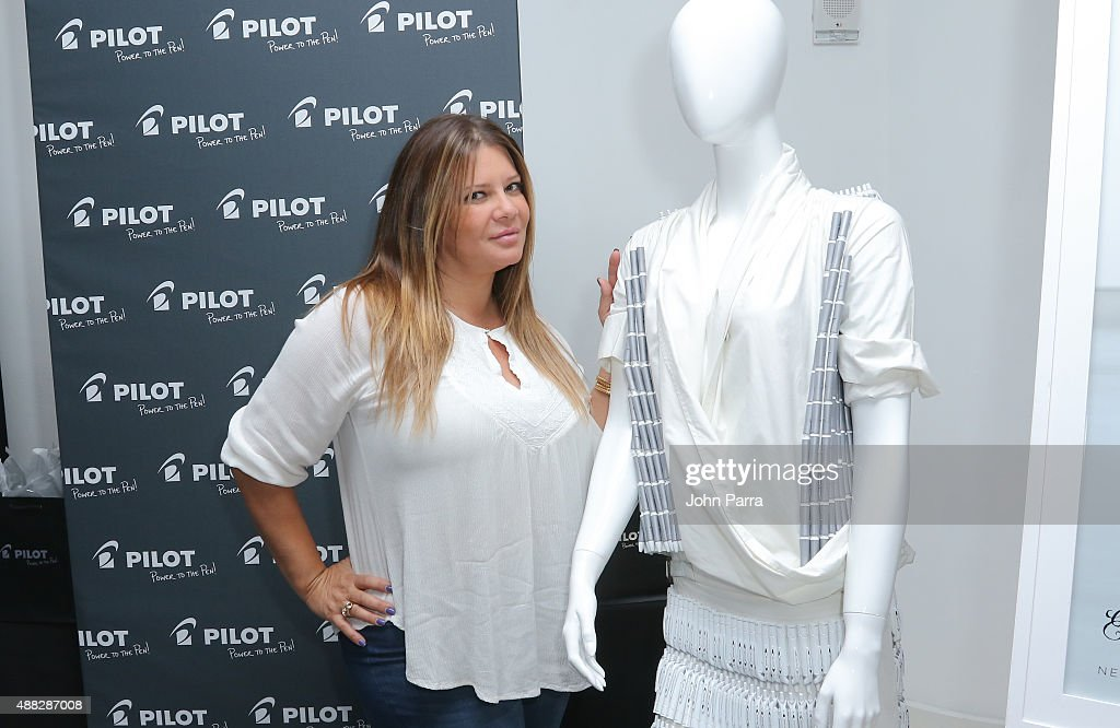 Karen Gravano attends GBK's New York Fashion Week Style Lounge 2015 Day 1 on September 14 2015 in New York City