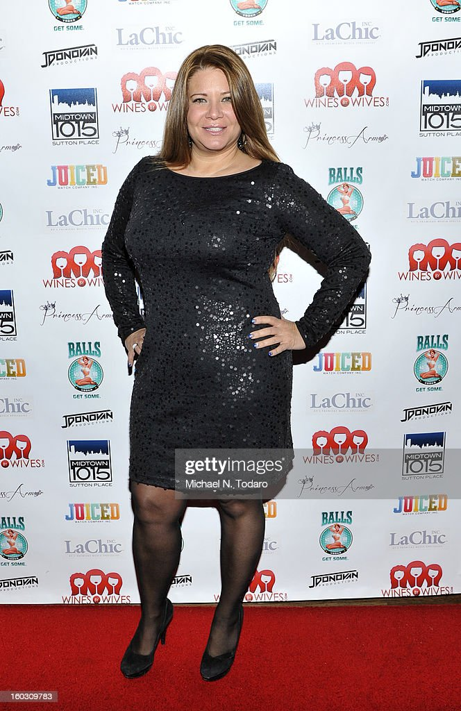Karen Gravano attends 'Jerseylicious' Season 5 Premiere Party at Midtown Sutton on January 28, 2013 in New York City.