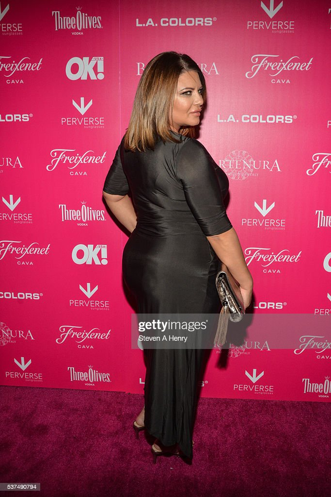 Karen Gravano attends the 2016 OK Magazine So Sexy NY at TAO Downtown on June 1 2016 in New York City