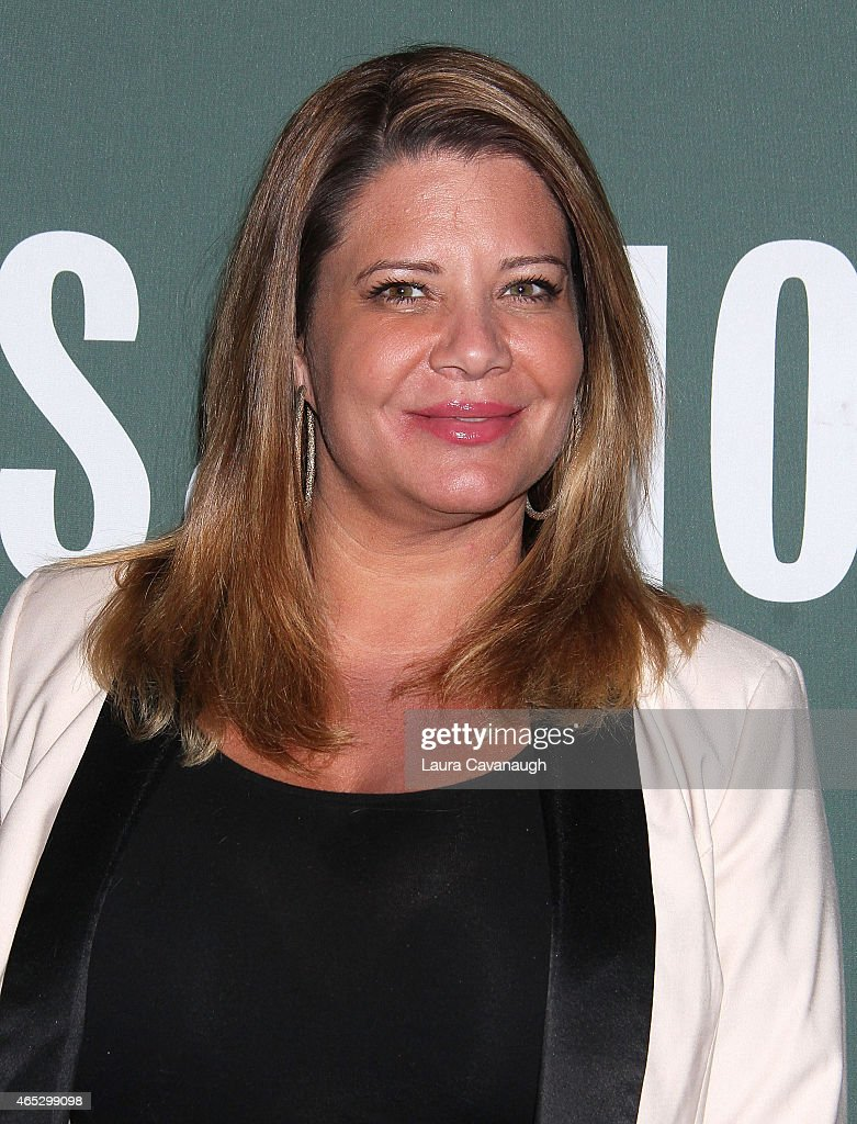 Karen Gravano attends the 'Mob Wives' visit Barnes Noble Tribeca at Barnes Noble Tribeca on March 5 2015 in New York City
