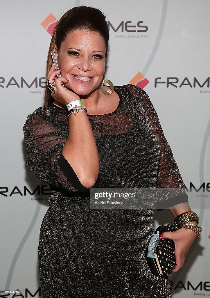 Karen Gravano attends VH1's 'Mobwives' Season 3 Premiere Viewing Party at Frames Bowling Lounge on January 6, 2013 in New York City.