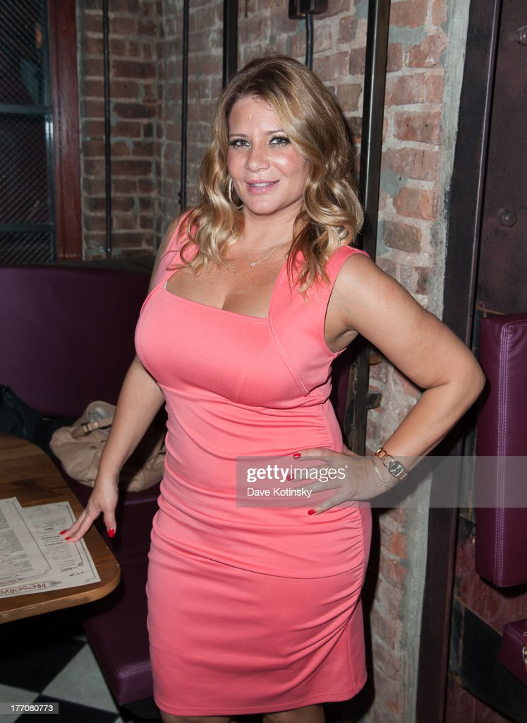 Karen Gravano visits 'On The Spot With DrG' at Preserve 24 on August 20 2013 in New York City