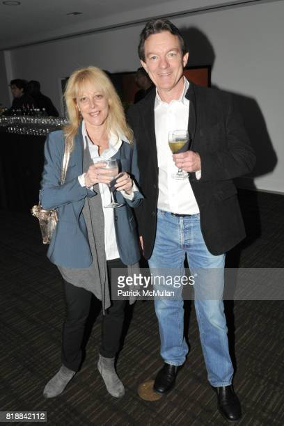 Karen Greenberg and Lawrence Wright attend TIME INC Live and Unfiltered Presents ROUGH JUSTICE Hosted by FORTUNE at Time and Life Building Screening...