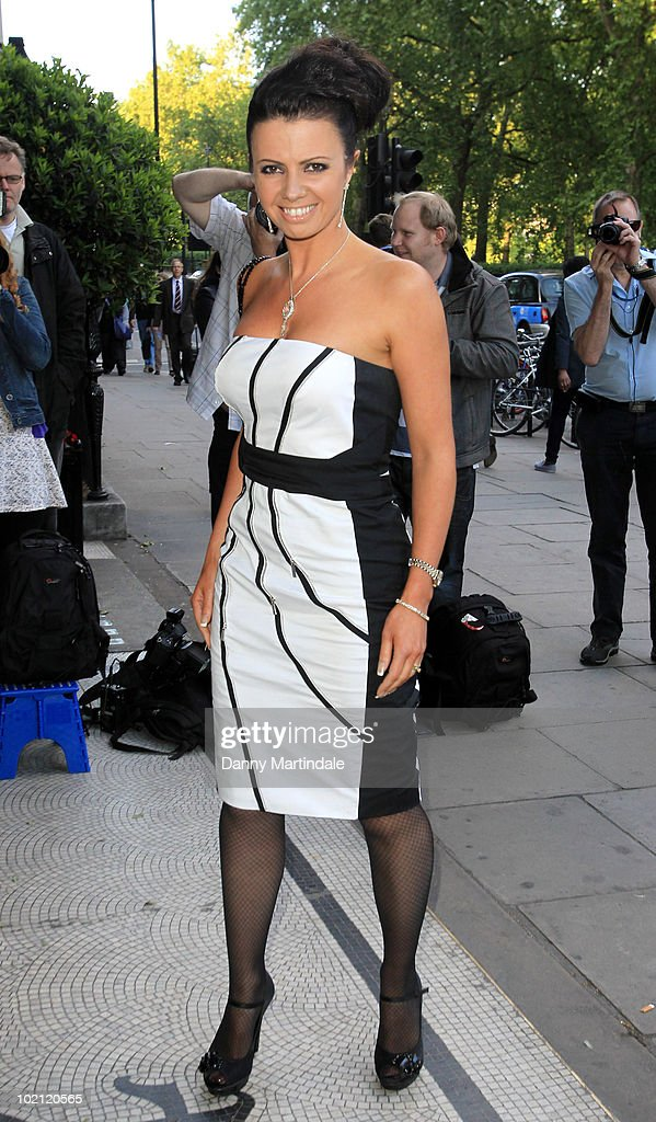 Karen Hardy attends Fight For Life's Strictly Dinner in aid of Children's cancer charity at Park Lane Hotel on June 15, 2010 in London, England.