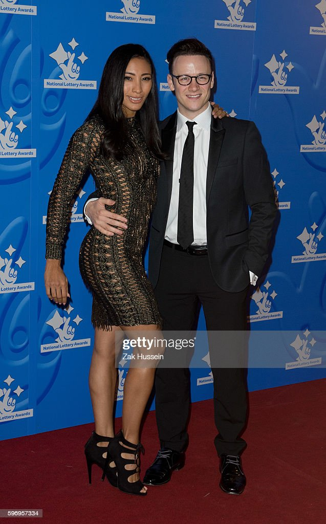 Karen Hauer and Kevin Clifton arriving at the National Lottery Awards at the London Television Centre in London
