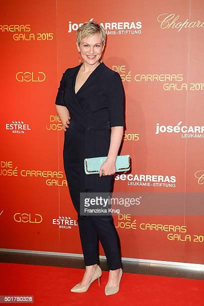 Karen Heinrichs attends the 21th Annual Jose Carreras Gala at Hotel Estrel on December 17 2015 in Berlin Germany