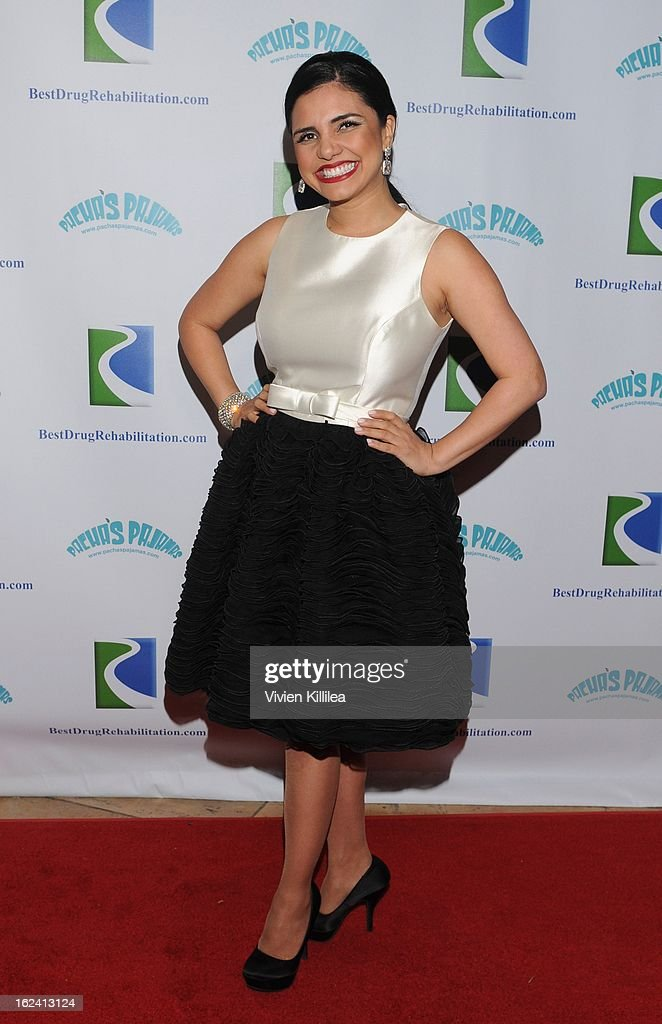 Karen Hoyos attends 'Imagination Heals' Children's Art Launch at The Beverly Hilton Hotel on February 22, 2013 in Beverly Hills, California.