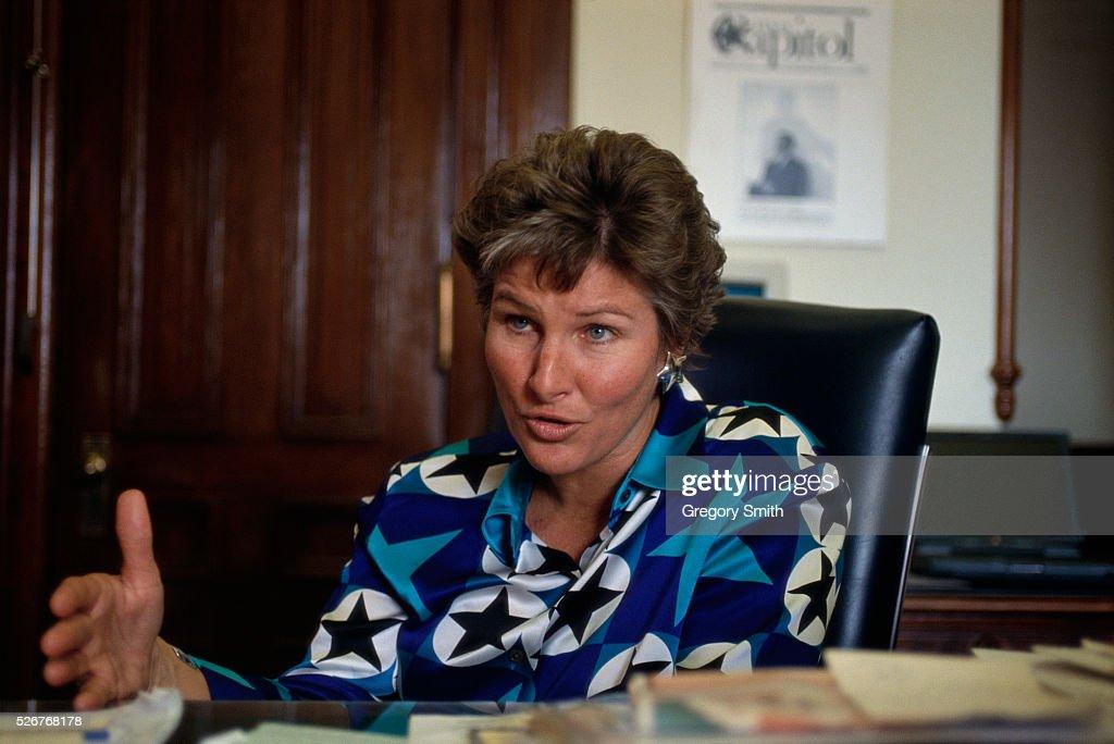 Karen Hughes is the press secretary for Texas governor George W Bush