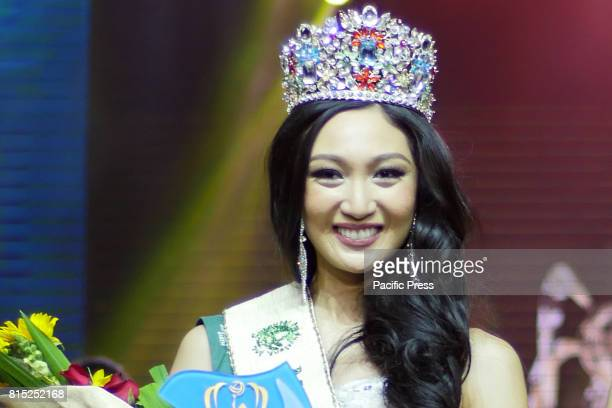 Karen Ibasco from the City of Manila is the Miss Earth Philippines 2017 Miss Earth Philippines coronation night happened at SM Mall of Asia Arena