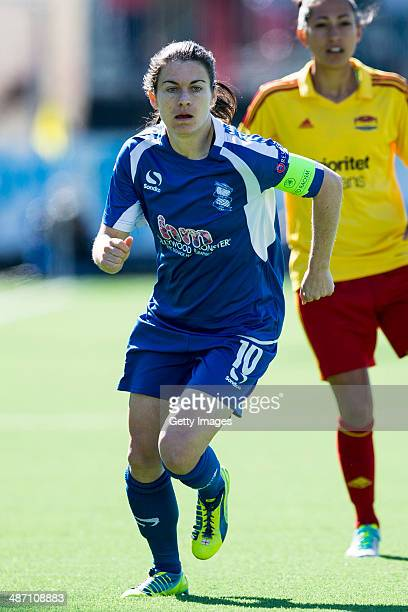 Karen Julia Carney of Birmingham City Ladies in action during the UEFA Women's Champions League SemiFinal Second Leg between Tyreso FF and Birmingham...