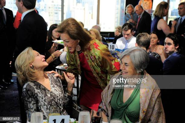 Karen Klopp and Mai Hallingby Harrison attend The Boys' Club of New York Annual Awards Dinner at Mandarin Oriental on May 17 2017 in New York City