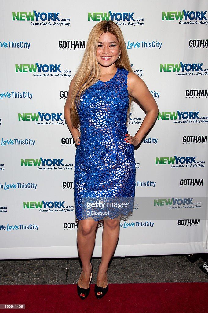 Karen Koeningsberg attends the NewYork.com launch party at Arena on May 29, 2013 in New York City.