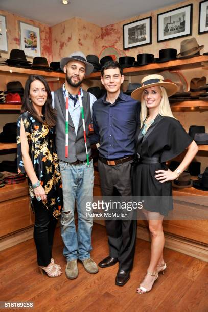 Karen LaGatta Brandon Franklin Miles Daniel and Kate Cutshall attend BELLE PLAGE CLOTHING Holiday Party Spring 2011 Preview at Worth Worth on...