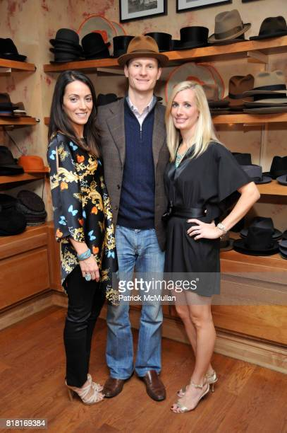 Karen LaGatta Jeff Cuthall and Kate Cutshall attend BELLE PLAGE CLOTHING Holiday Party Spring 2011 Preview at Worth Worth on November 30 2010 in New...