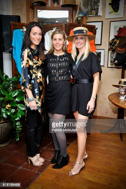 Karen LaGatta Mary Garth and Kate Cutshall attend BELLE PLAGE CLOTHING Holiday Party Spring 2011 Preview at Worth Worth on November 30 2010 in New...