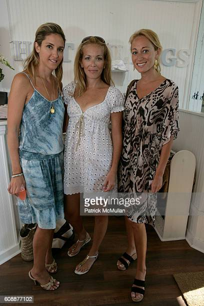 Karen Larrain Jennifer Brown and Alex Kramer attend HATCHLINGS Spring 2008 'HATCH' Boys Collection hosted by ANNETTE LAUER CRISTINA CUOMO and ANA...