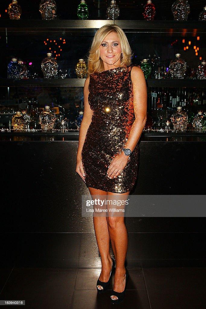 Karen Ledbury attends an evening with Dan Aykroyd at Rock Lily, The Star on October 10, 2013 in Sydney, Australia.
