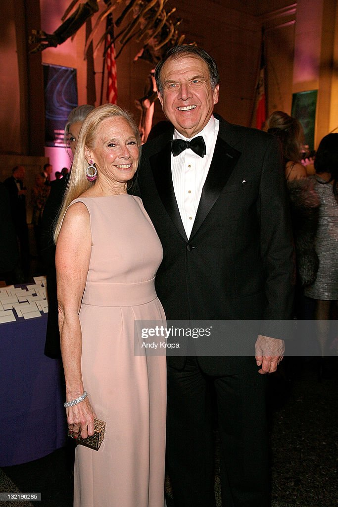 Karen LeFrak and Richard LeFrak attend the 2011 American Museum of Natural History gala at the American Museum of Natural History on November 10, 2011 in New York City.