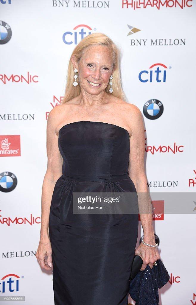 Karen LeFrak attends New York Philharmonic's Opening Gala Celebrating the 175th Anniversary Season at David Geffen Hall on September 21, 2016 in New York City.