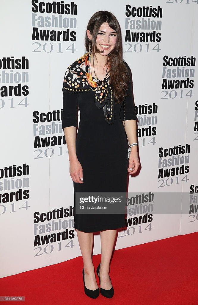 Karen Mabon attends The Scottish Fashion Awards on September 1, 2014 in London, England.