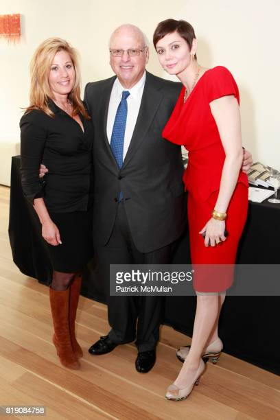 Karen Mansour Howard Lorber and Veronica Mainetti attend 2010 ACE Gala Committee Launch Party at 34 Greene St on March 25 2010 in New York City