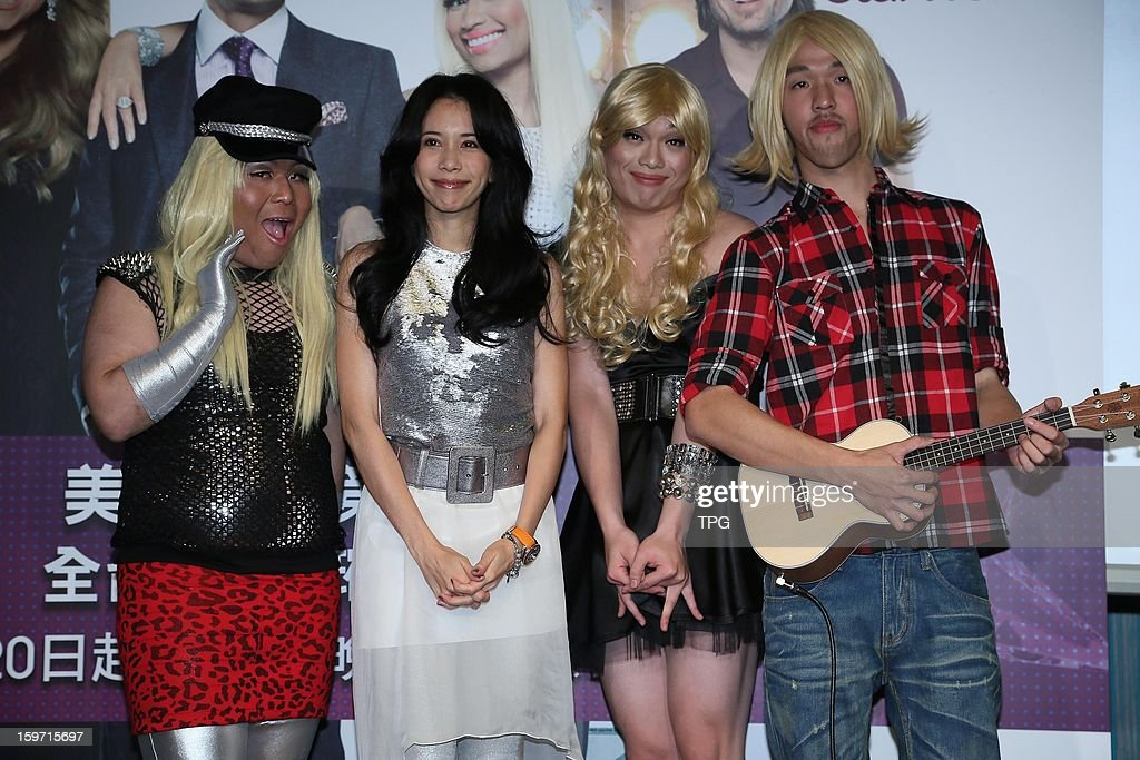 Karen Mok propagandized for 'American Idol' on Friday January 18,2013 in Taipei Taiwan, China.