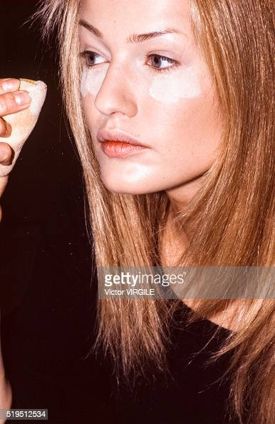 Karen Mulder Chanel Haute Couture Stock Photos and ...