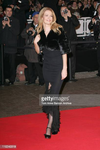 Karen Mulder during 2005 NRJ Music Awards Arrivals at Palais des festivals in Cannes France