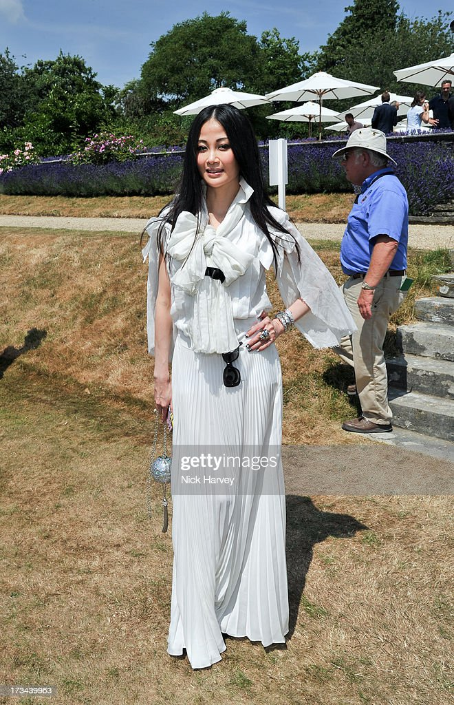 Karen Ng attends the Cartier Style et Luxe at Goodwood Festival of Speed on July 14, 2013 in Chichester, England.