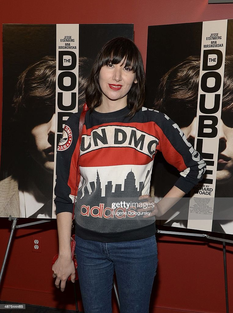 <a gi-track='captionPersonalityLinkClicked' href=/galleries/search?phrase=Karen+O&family=editorial&specificpeople=213098 ng-click='$event.stopPropagation()'>Karen O</a> attends 'The Double' screening at Landmark's Sunshine Cinema on April 30, 2014 in New York City.