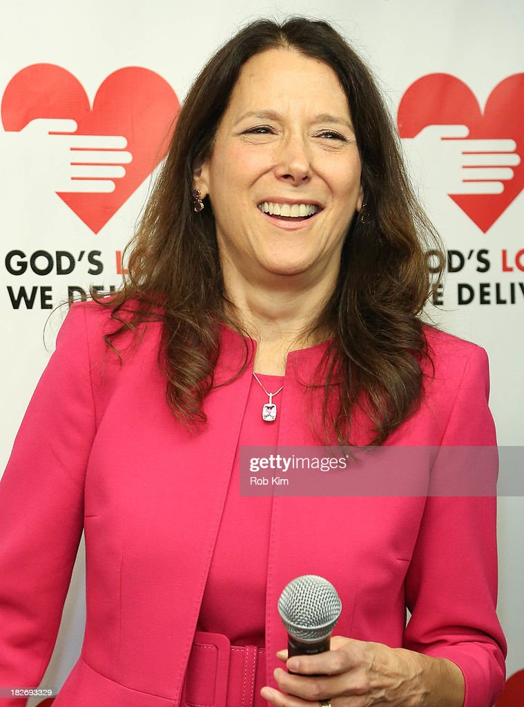 Karen Pearl, President and CEO of God's Love We Deliver attends the Expansion Project Groundbreaking Ceremony at God's Love We Deliver on October 2, 2013 in New York City.