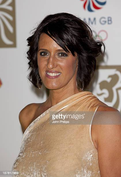 Karen Pickering Arrives At The British Olympic Ball 2011 At Kensington Olympia London