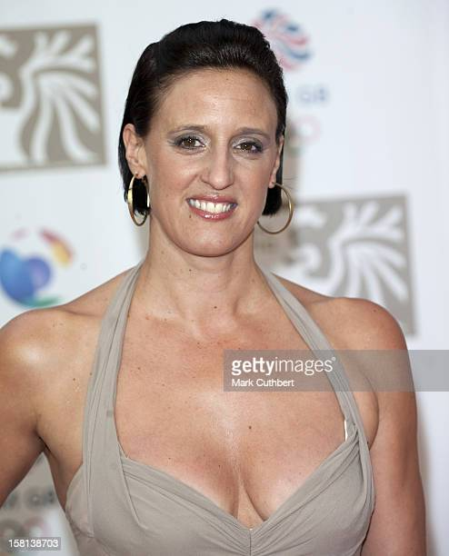 Karen Pickering At The British Olympic Ball At The Grosvenor House Hotel Central London