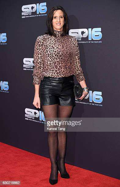 Karen Pickering attends the BBC Sports Personality Of The Year at Resorts World on December 18 2016 in Birmingham United Kingdom