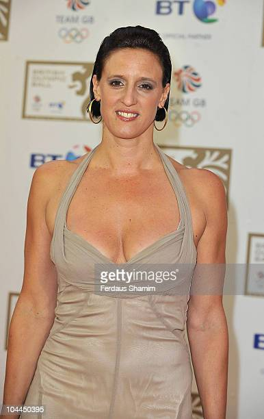 Karen Pickering attends the British Olympic Ball at The Grosvenor House Hotel on September 24 2010 in London England
