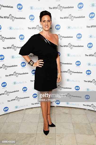 Karen Pickering attends The KP24 Foundation Charity Gala Dinner at The Waldorf Hilton Hotel on June 9 2016 in London England