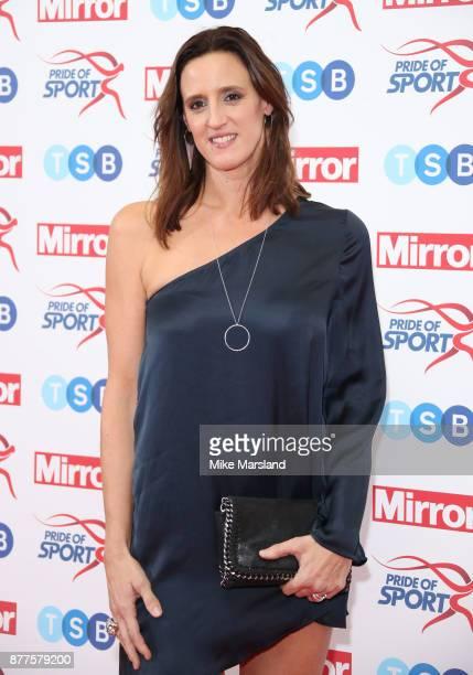 Karen Pickering attends the Pride of Sport awards at Grosvenor House on November 22 2017 in London England