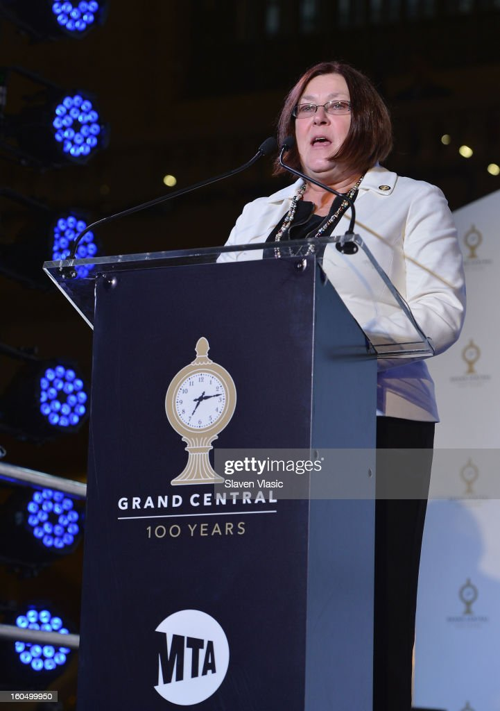 Karen Rae, Deputy Secretary to Governer Andrew Cuomo for Transportation attends Grand Central Terminal 100th Anniversary Celebration at Grand Central Terminal on February 1, 2013 in New York City.
