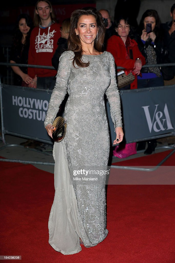 Karen Ruimy attends the Hollywood Costume gala dinner at Victoria & Albert Museum on October 16, 2012 in London, England.