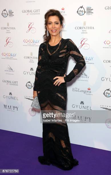 Karen Rulmy attending the Global Gift Gala held at The Corinthia Hotel in London PRESS ASSOCIATION Photo Picture date Saturday November 18 2017 Photo...