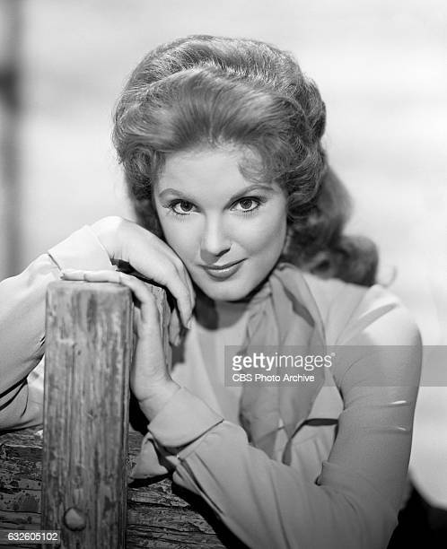Karen Sharpe as Laura Thomas in the CBS western television program 'Johnny Ringo' Image dated July 24 Hollywood CA