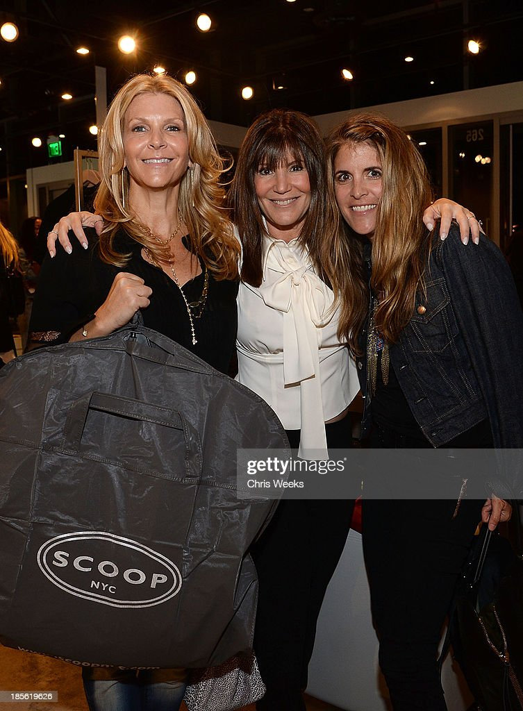 Karen Silver, Shelli Azoff and Andrea Stanford attends the Scoop NYC event at Scoop NYC on October 22, 2013 in Beverly Hills, California.