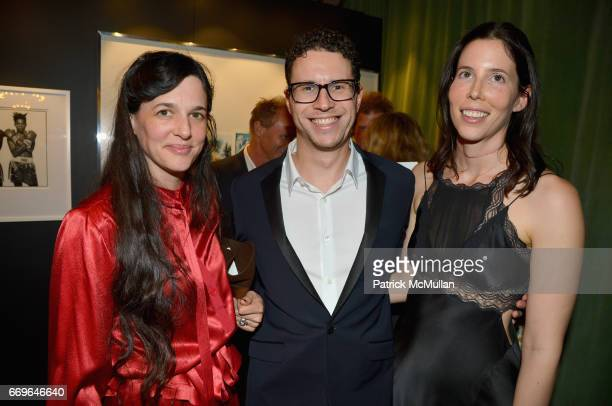 Karen Simon Daniel Nadler and Nitzan Rotenberg attend The Turtle Conservancy's 4th Annual Turtle Ball at The Bowery Hotel on April 17 2017 in New...